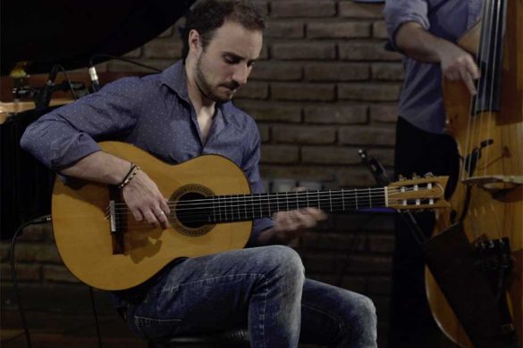 Leonardo Andersen, Guitarra